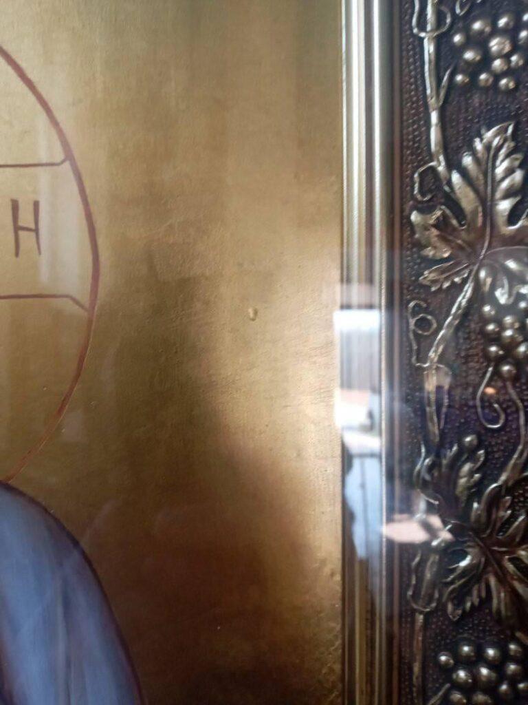 ВІДЕО. У чоловічому монастирі, у селі Сільце на Іршавщині, замироточила ікона